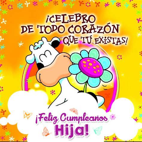 imagenes cumpleaños hija tarjetas de felicitaciones de cumplea 241 os para una hija