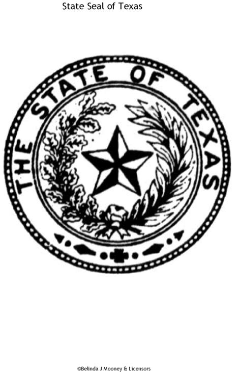 state seals coloring pages