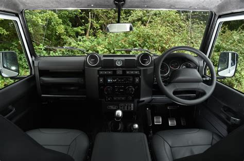 land rover defender 2015 interior 2015 land rover defender 110 adventure uk review review
