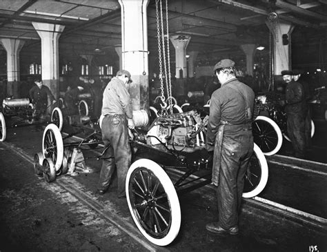 The Assembly Line Henry Ford Essay by Changer 100th Anniversary Of The Moving Assembly Line Ford Media Center