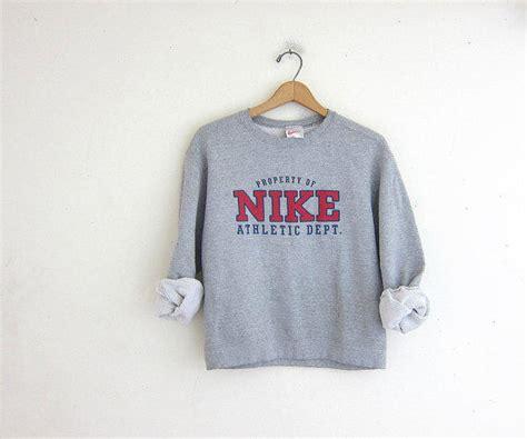 vintage gray nike sweatshirt cotton from birdies