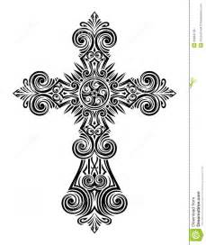 vintage cross vector stock photos image 33684743