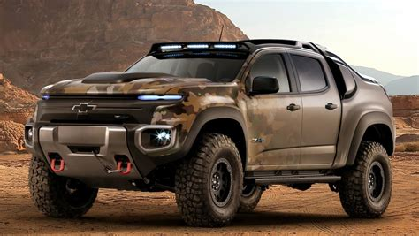Chevy S Colorado Flexes Muscles With
