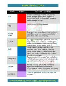 de colores meaning colors meaning