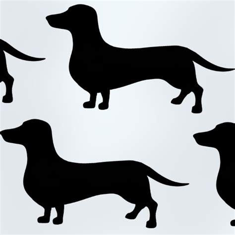 Banksy Wall Stickers Uk dachshund dog stencil