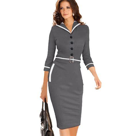 women formal office bodycon pencil summer dress  vestido de festa vestidos womens casual