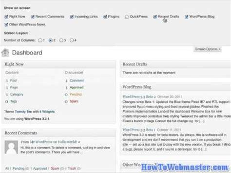 tutorial wordpress admin panel wordpress tutorial how to change the look of your wp admin