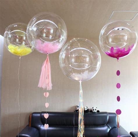 inches bobo bubble clear balloons wedding shower xmas