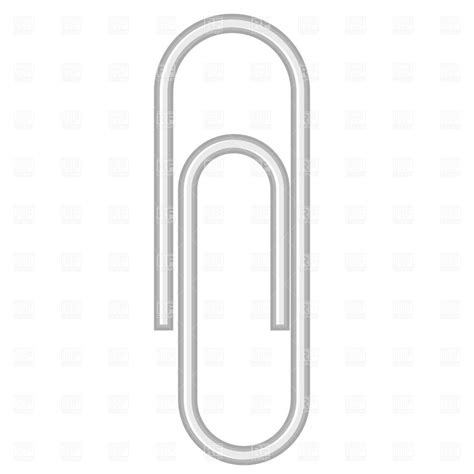 How To Make A Paper Clip - paper clip royalty free vector clip image 1255