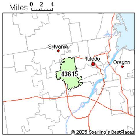 zip code map toledo ohio best place to live in toledo zip 43615 ohio