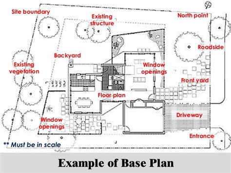 House Floor Plan Examples project 2 landscape project site analysis