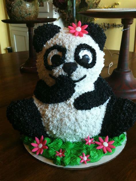 panda cake cakes de osos pinterest