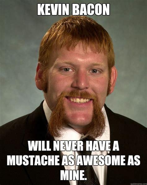 Kevin Bacon Meme - epic mustache memes quickmeme