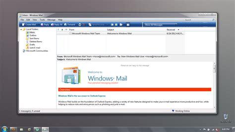 wallpaper for windows live mail original windows mail in windows 7 by scritperkid2 on