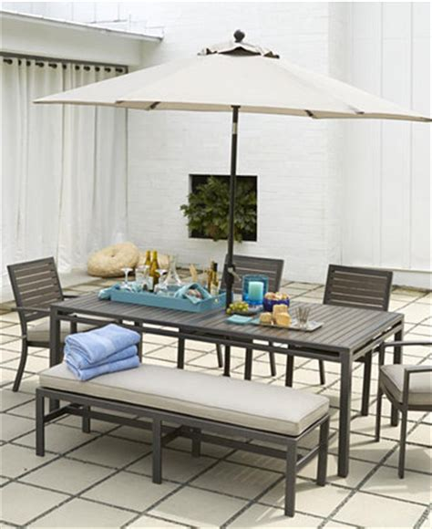 Marlough Outdoor Patio Furniture Dining Sets Pieces Macys Patio Dining Sets