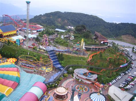 theme park genting highland simple peaceful genting highland malaysia