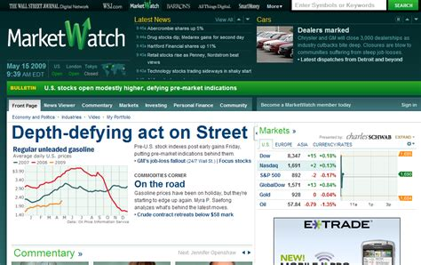 MarketWatch Revamp   The Big Picture