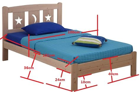 standard bed size sl04 bed