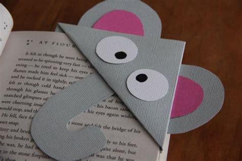 printable elephant bookmarks items similar to elephant corner bookmark on etsy