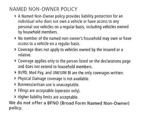 Non Owner Car Insurance by Non Owner Car Insurance United Policyholders