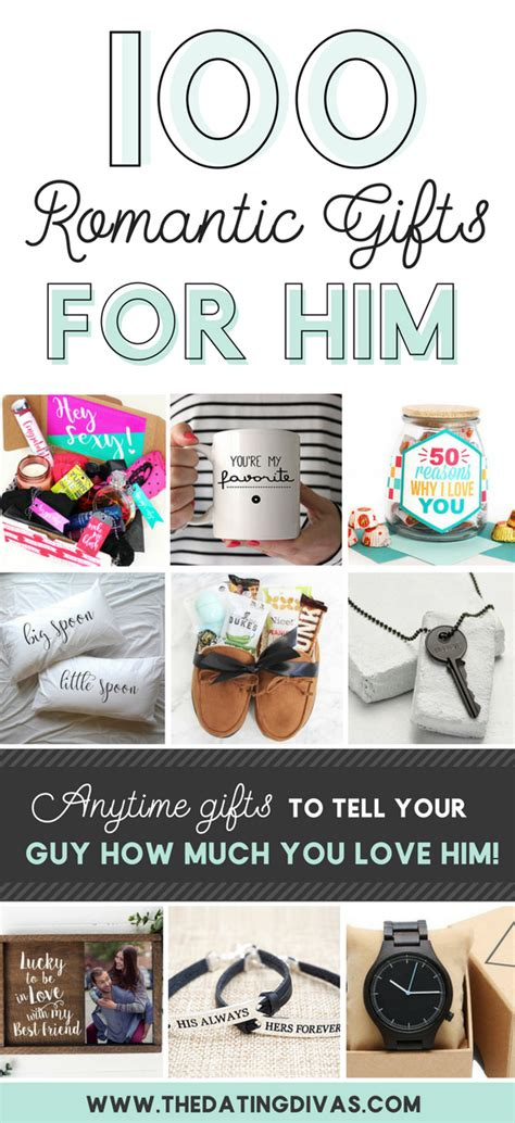 surprise gifts 100 romantic gifts for him