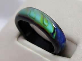Genuine black agate mood ring best mood rings