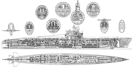 submarine floor plan submarine plans