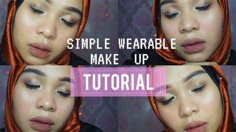 tutorial make up yg sederhana tutorial make up simpel untuk pemula bahasa clara