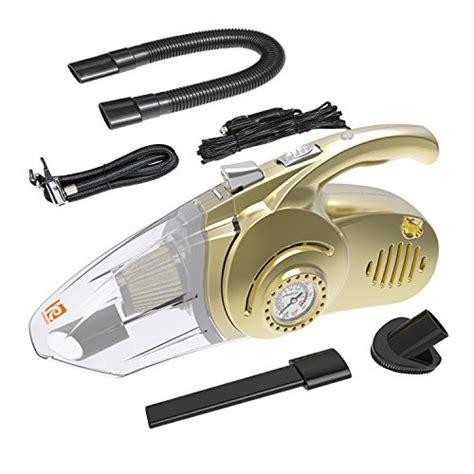 4 In 1 Car Vacuum Cleaner Portable High Power Tire Inflator Flashlight karoad car vacuum cleaner 4 in 1 multifunctional portable auto vacuum 12 volt car