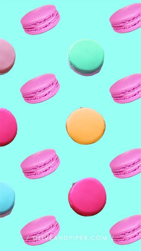 girly macaron wallpaper macaron wallpaper macaroons fondos para iphone y aceitunas