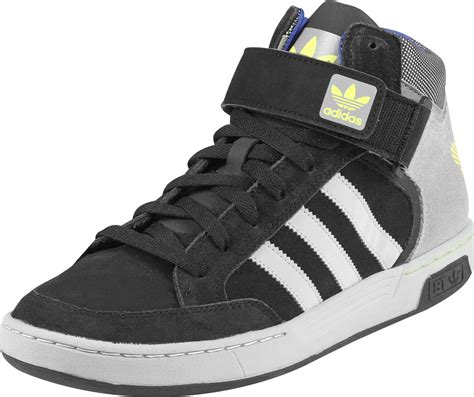 adidas varial mid st shoes black grey yellow