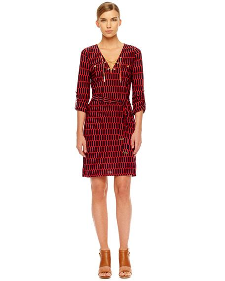 Printed Lace Up michael michael kors printed lace up dress