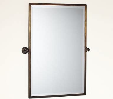 pivot bathroom mirror kensington pivot mirror large rectangle antique bronze finish traditional bathroom