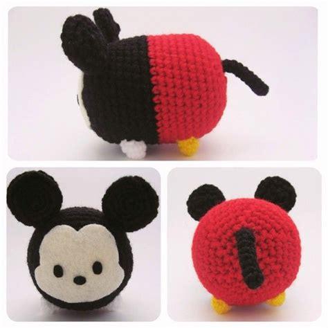 Disney Tsum Tsum Amigurumi No 33 Set the 25 best ideas about crochet mickey mouse on disney crochet patterns crochet
