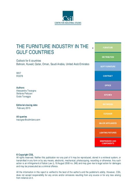 furniture industry the furniture industry in the gulf countries saudi arabia