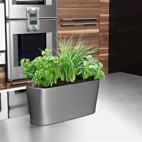 self watering indoor planters 10 gadgets for your kitchen herbs
