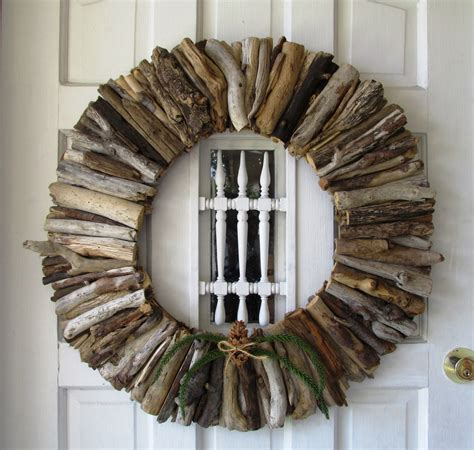 large driftwood wreath rustic home decor home decor