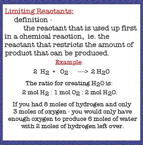 What Is The Meaning Of Backyard by Limiting Reactant Definition Flickr Photo