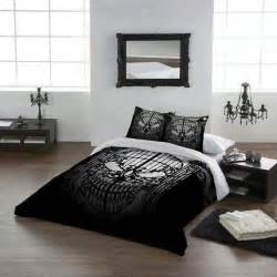 Skull Bedroom Skull Bedding Skulls Pinterest