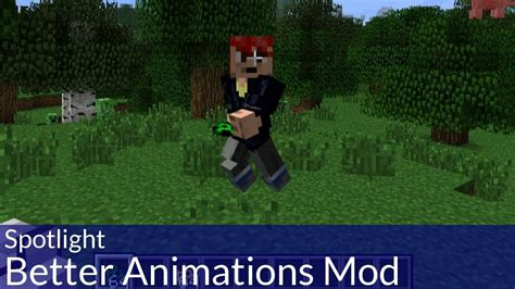 minecraft better animations mod spotlight minecraft better animations mod
