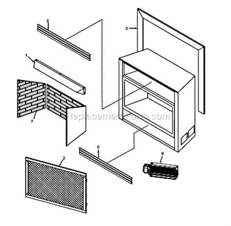 monessen dfs36 parts list and diagram pvc