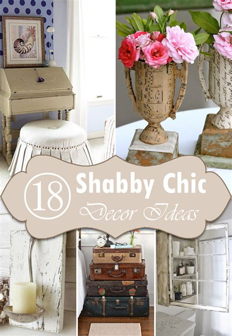 Diy Home Decor Projects On A Budget 18 diy shabby chic home decorating ideas on a budget