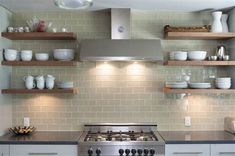 tips for stylishly stocking that open kitchen shelving 22 extraordinary kitchens with open shelves