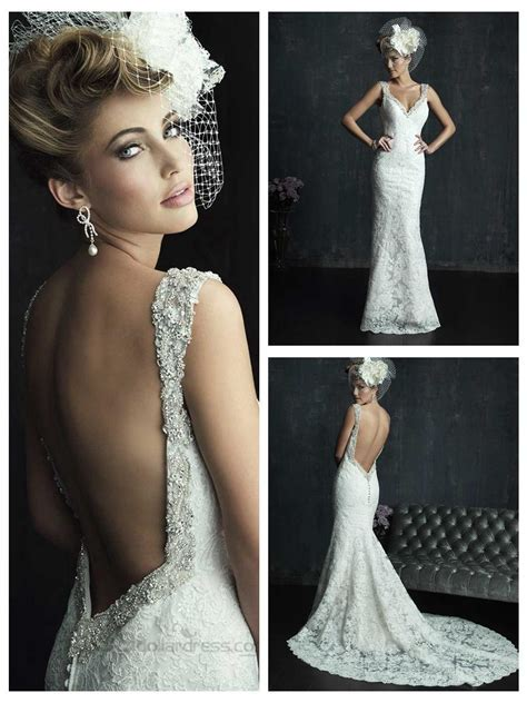 36 Low Back Wedding Dresses   Page 2