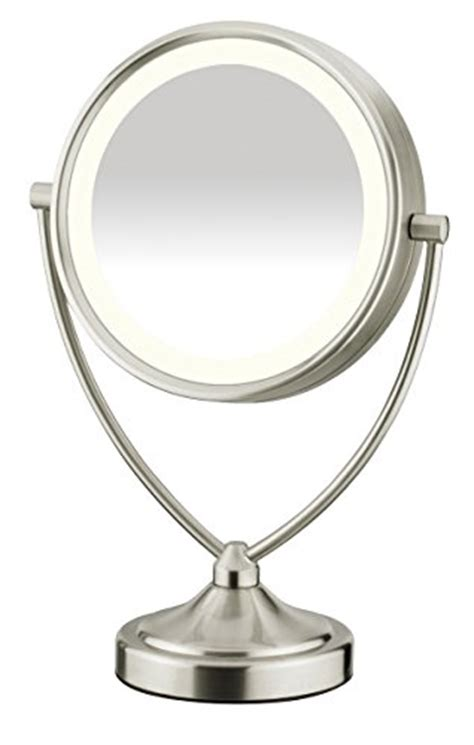 conair lighted vanity mirror conair natural daylight double sided lighted makeup mirror