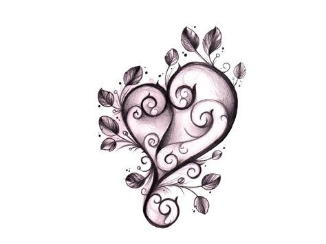 gothic heart tattoo designs www pixshark com images