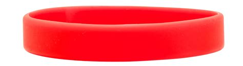 Red Printed Silicone Wristbands   myZone Printing