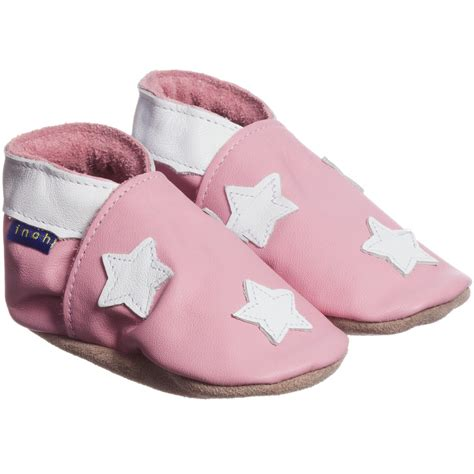 blue baby shoes inch blue baby pink leather pre walker shoes
