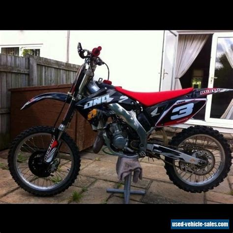 2002 Honda Cr125 For Sale In The United Kingdom