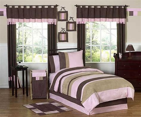 soho pink and brown comforter set 3 piece full queen